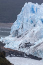 Perito moreno glacier argentina the front of in patagonia the mass of blueish ice flowing into argentino lake el calafate Stock Image