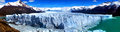 Perito moreno glacier argentina panorama of Royalty Free Stock Images