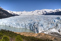 Perito Moreno glacier in El Calafate, Argentina Stock Photo