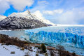 Perito moreno glacier el calafate patagonia argentina the biggest of the world Stock Images