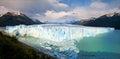 Perito Moreno Glacier in Patagonia, South America Royalty Free Stock Images