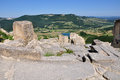 Perperikon is consecrated to dionysus the rhodopes bulgaria Royalty Free Stock Photo