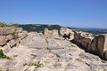 Perperikon is consecrated to dionysus the rhodopes bulgaria Royalty Free Stock Photography