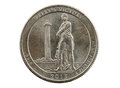 Perrys Victory Commemorative Quarter Royalty Free Stock Photo