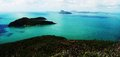 Perseverance island passage peak look out whitsunday islands queensland australia Royalty Free Stock Photography