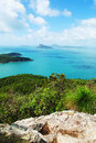 Perseverance island view of the whitsundays from passage peak Stock Photos