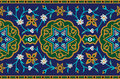 Persian Complex Seamless Pattern Royalty Free Stock Photo