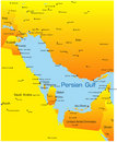 Persian gulf Royalty Free Stock Photography