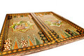 Persian mosiac backgammon set Royalty Free Stock Photo