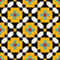 Persian pointless seamless pattern traditional Stock Photo