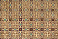 Persian tiles with old islamic pattern background of Stock Photos