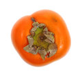 Persimmon Overhead View Stock Image