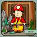 Person profession miner