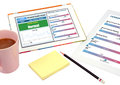 Personal health record show on tablet. Royalty Free Stock Photo