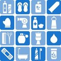 Personal hygiene icons Royalty Free Stock Photo