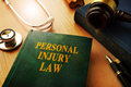 Personal injury law. Royalty Free Stock Photo
