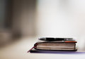 Personal organizer and pen Royalty Free Stock Photo
