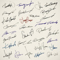 Personal signature Royalty Free Stock Photo