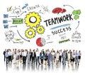 Personnes de team together collaboration corporate business de travail d équipe Image libre de droits