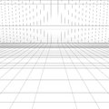 Perspective grid for background Royalty Free Stock Photo