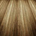 Perspective of wood plank Royalty Free Stock Photo