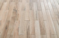 Perspective wooden floor ,image in soft focusing ,vintage tone
