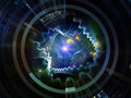 Perspectives of Space Emitter Royalty Free Stock Photo