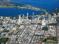 Perth City Aerial View 4 Royalty Free Stock Photography