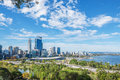 Perth view at the noon Royalty Free Stock Photo