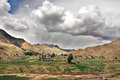 Peru landscape which covers square kilometres offers exhilarating holiday travel because of its geographic splendour and the Royalty Free Stock Photos