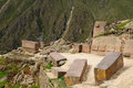 Peru, Sacred Valley, Ollantaytambo Inca fortress Stock Photography
