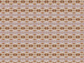 Peru a soft textile pattern that suggests warmth it is a combination between browns and tan tones Royalty Free Stock Images
