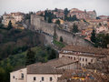 Perugia italy view of in Stock Images
