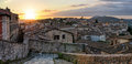 Perugia panorama from Porta Sole Royalty Free Stock Photo