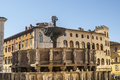 Perugia umbria italy famous monumental fountain other historic buildings Stock Photos