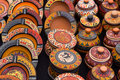 Peruvian bowl handicraft in pisaq market peru Stock Photo
