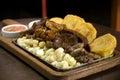 Peruvian dish Royalty Free Stock Photo