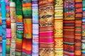 Peruvian Fabric Royalty Free Stock Photo