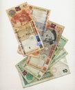Peruvian money Royalty Free Stock Photo