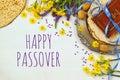 Pesah celebration concept & x28;jewish Passover holiday& x29; Royalty Free Stock Photo