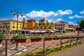 Peschiera del Garda colorful architecture view