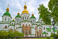 Peshtersk lavra cathedral, Kiev, Ukraine Stock Photo