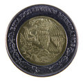 Peso Coin Close-up Royalty Free Stock Images