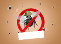 Pest control pests illustration of Stock Images