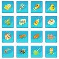 Pest control terminate icon blue app