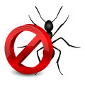 Pesticide icon vector illustration of symbol Stock Photography
