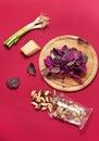 Pesto ingredients Royalty Free Stock Photo