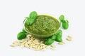 Pesto sauce Royalty Free Stock Photo