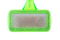 Pet brush with clump fur closed up Royalty Free Stock Photo