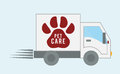Pet care design Royalty Free Stock Photo